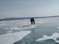 Рыбалка в Монголии  Озеро Лебяжье